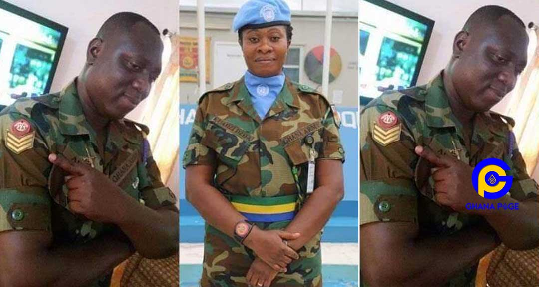 Photos: Sunday's heavy rain in Accra kills military married couple [Photos]