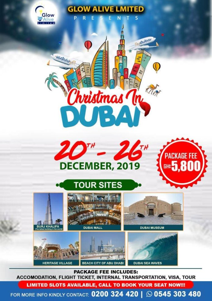 Glow Alive Limited Dubai Tour