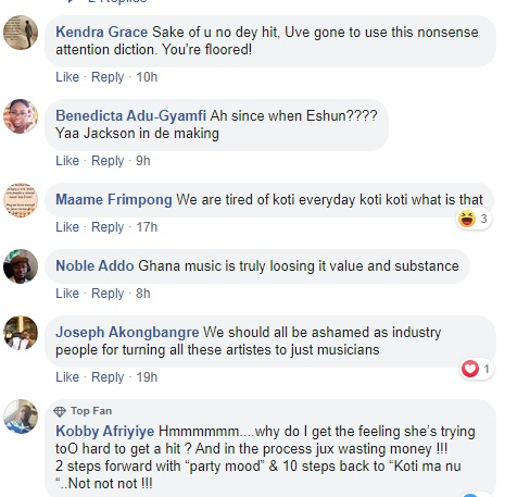 Social media users lambast 'good girl' eShun for releasing profane song 3