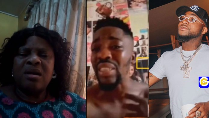 Mother-of-the-fan-Davido-slapped-in-the-chest-trying-to-take-selfie-with-him-speaks-Video