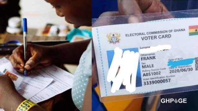Ghanaians-descend-on-government-and-EC-for-giving-'junk'-Voter's-ID-card-after-first-day-of-registration
