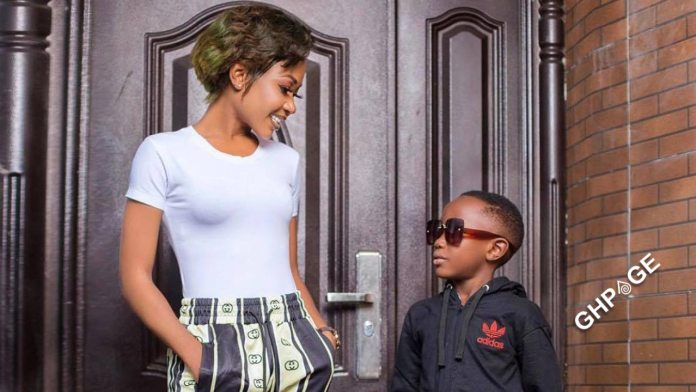 Akuapem Poloo and son