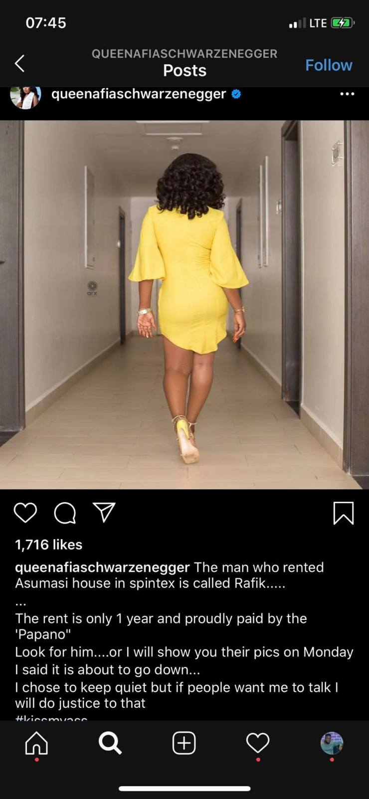 Afia Schwar names Rafik as the man who rented the apartment for Mzbel 4