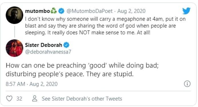 Sister Derby tweet
