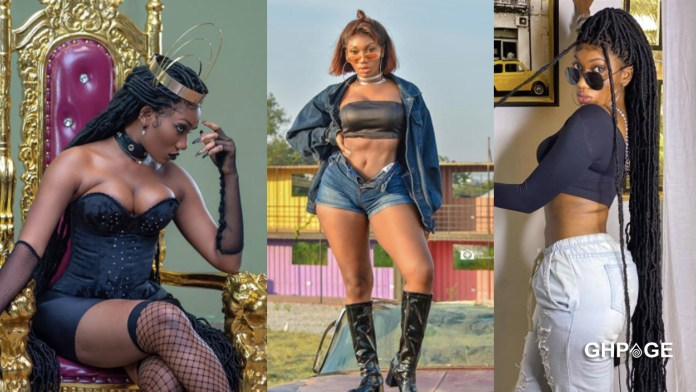 Social media users descend on Wendy Shay over her new photo