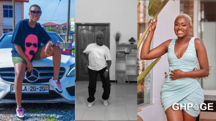 Fella Makafui serves fans with serious dance moves