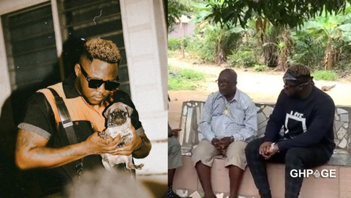 Medikal joins Lil Win on set for an upcoming movie