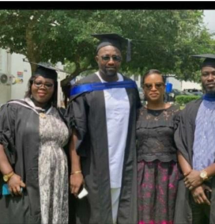 Dumelo GIMPA graduation