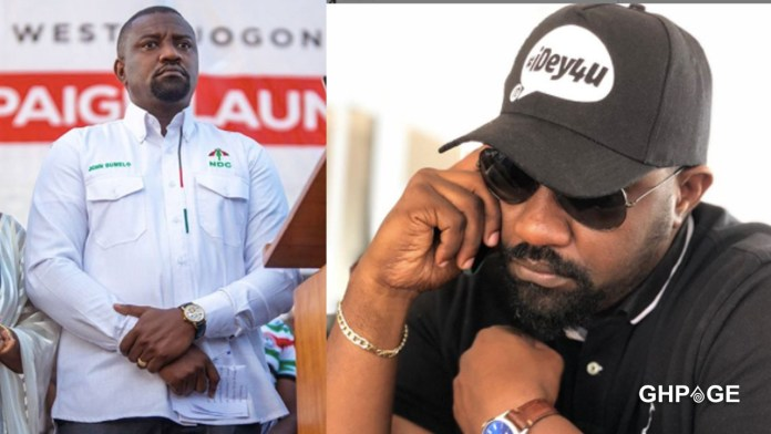 I'm sorry for my comments - John Dumelo