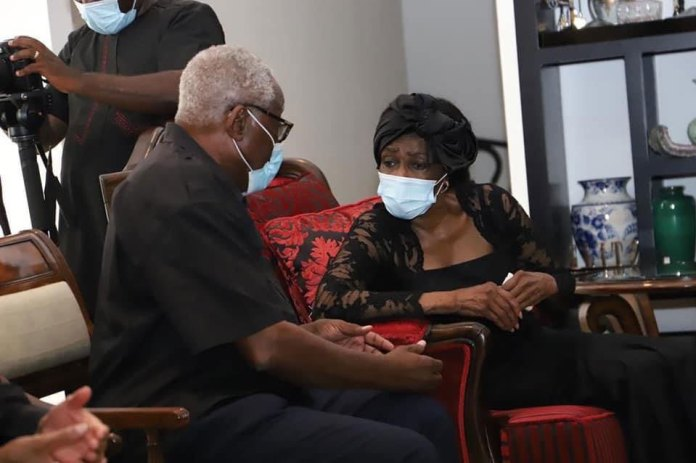 Naa Konadu Agyemang Rawlings makes first appearance after her husband's death