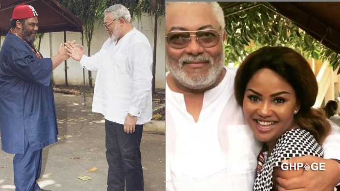 Photos of JJ Rawlings hanging out with some popular celebrities