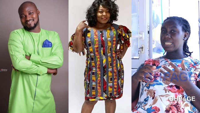 Funny Face's baby mama gives full details on how she met Maame Yeboah Asiedu