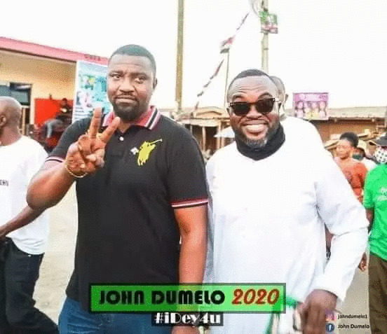 John Dumelo and Fred Nuamah