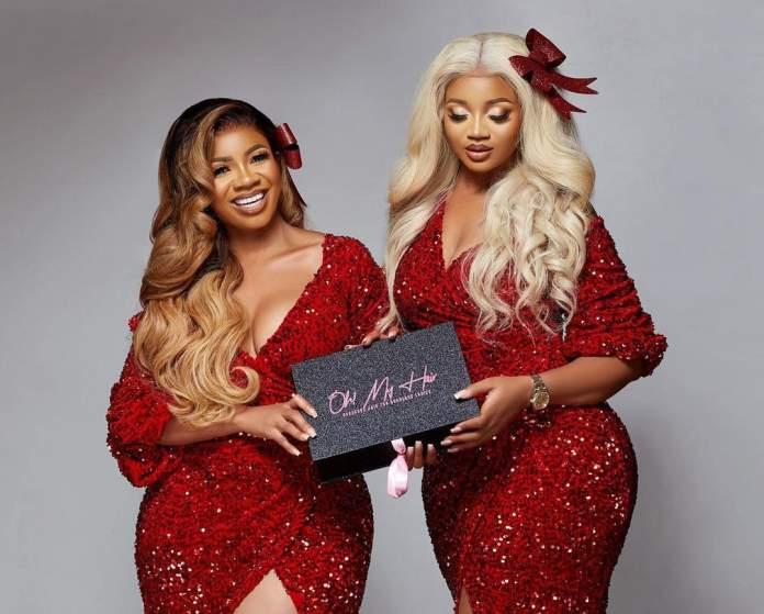 Serwaa Amihere and sister pic
