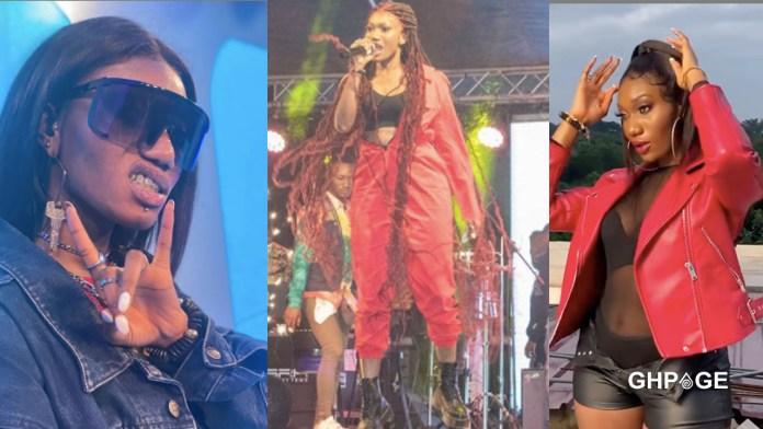 Wendy Shay's new look get netizens talking (Photo)
