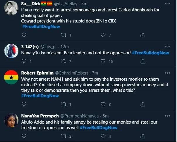 #FreeBullDogNow