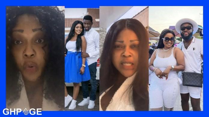 Mona Gucci, Nana Ama McBrown and Maxwell Mensah