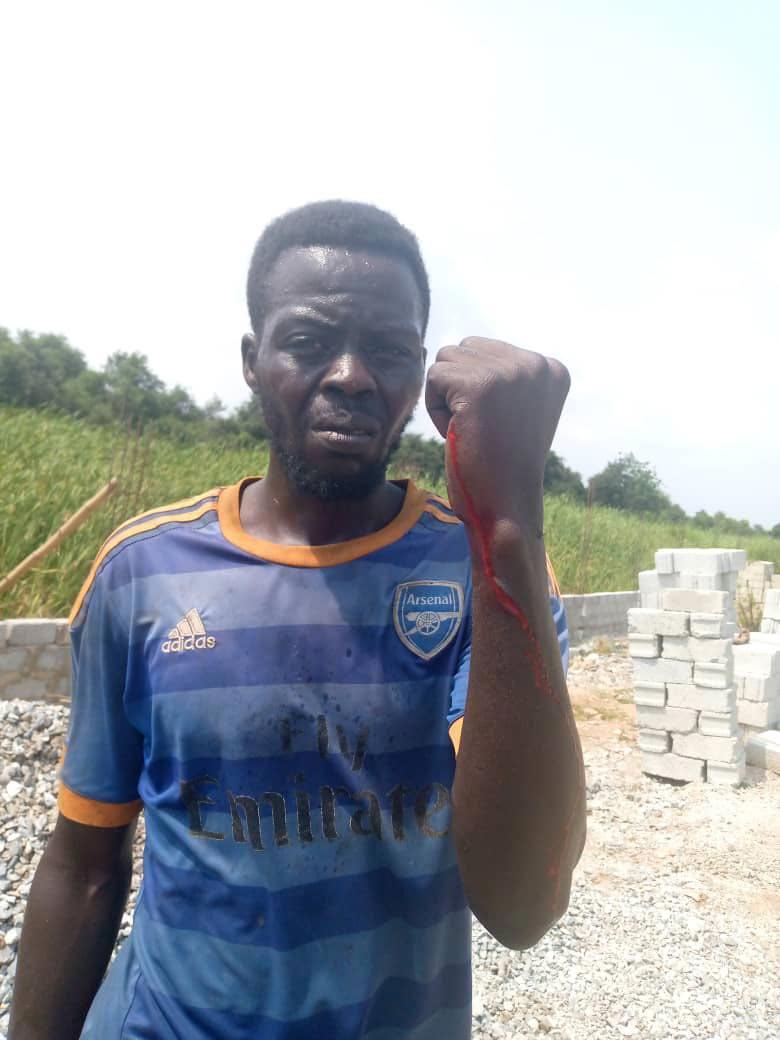 Victim of Land guard attacks