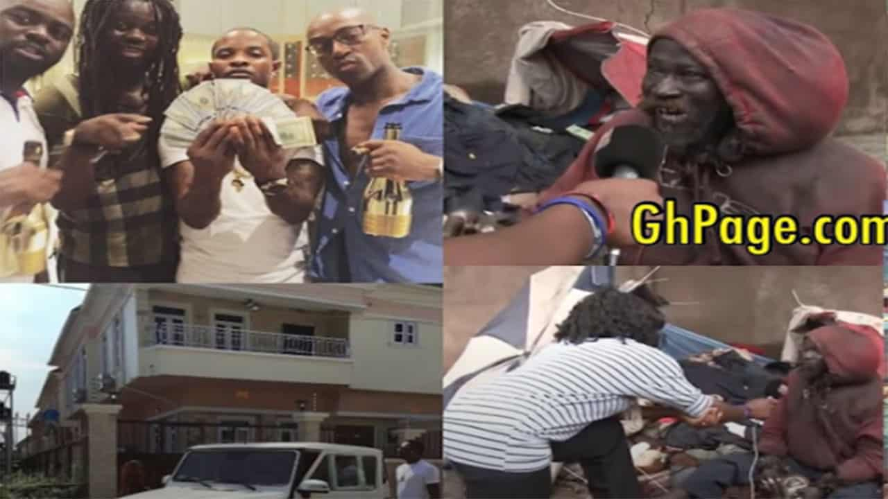 Top millionaire in Ghana narrates how a mad man made him rich (Video)
