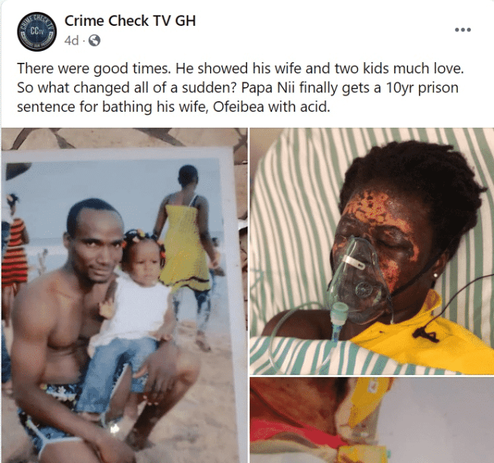 Man who bathed his wife with acid jailed for 10 years 2