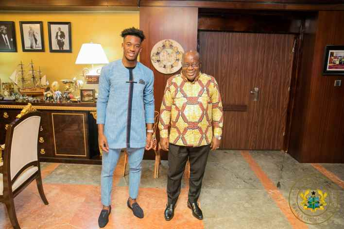Nana Akufo-Addo urges Sports Minister to convince Hudson-Odoi to play for Black Stars 1