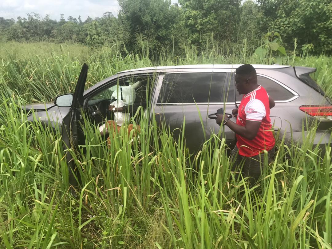 Kwabena Kwabena involved in accident on Kumasi Highway 2