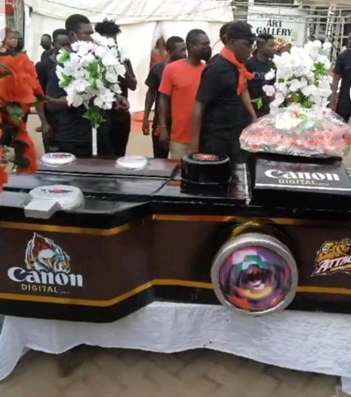 agya manu coffin