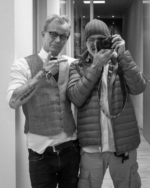 Jan Grarup & me.