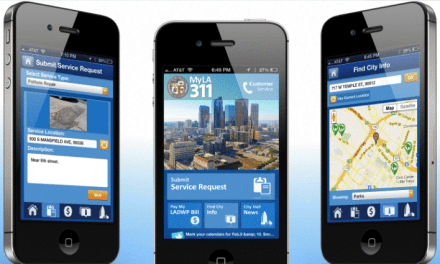 City of Los Angeles Releases a 3-1-1 App and a Cleaner Website