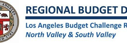 Los Angeles Budget Challenge Results: North Valley & South Valley