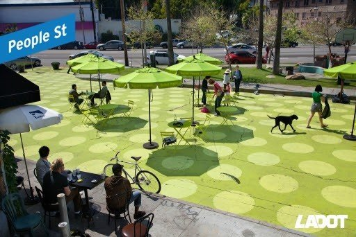 LADOT's People St Is Open for Business