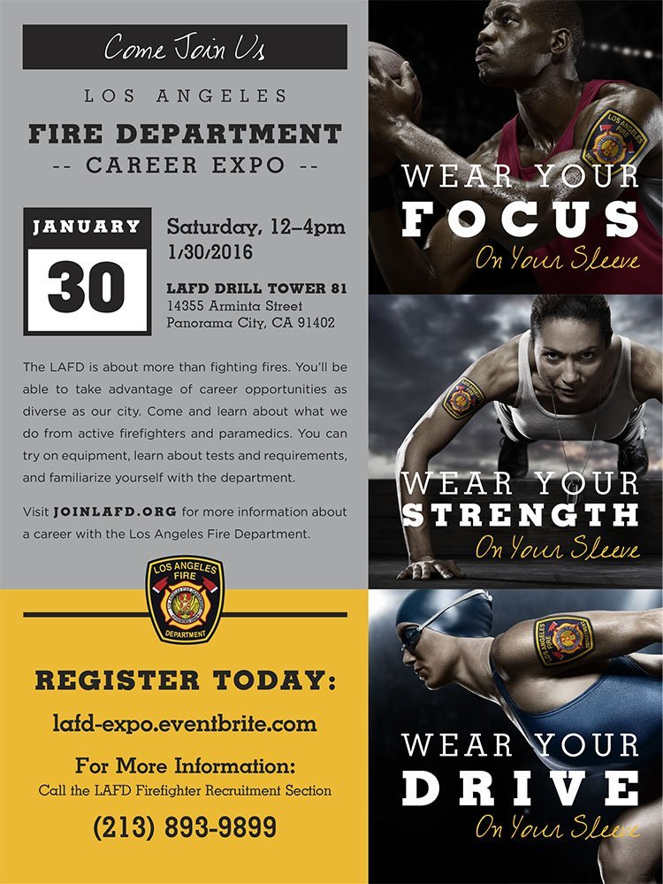Los Angeles Fire Department Career Expo – Saturday, January 30