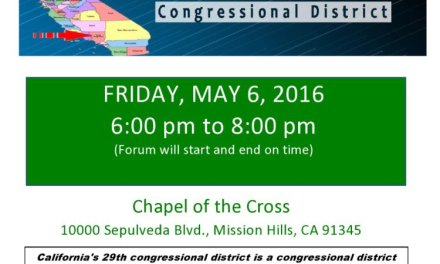 29th Congressional District Candidate Forum Friday