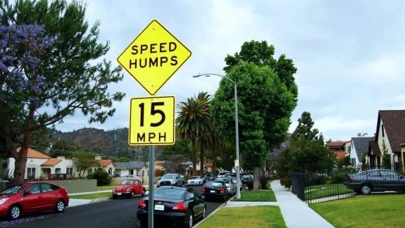 LADOT Reactivates Speed Hump Program