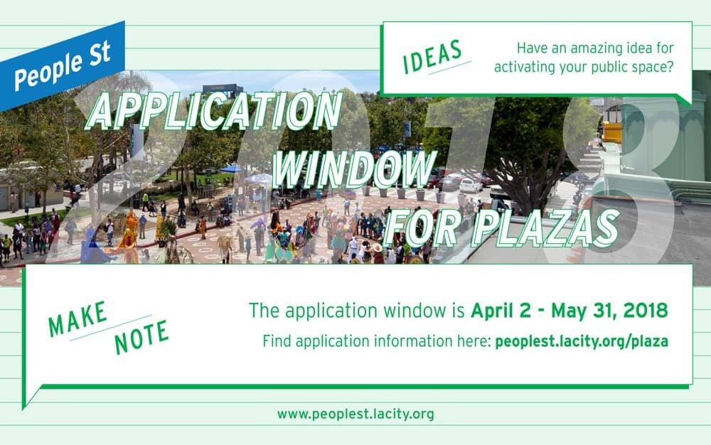 LADOT People St Application Window