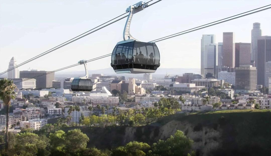 Mayor Garcetti: Proposed Gondola that Could Take Fans to Dodger Stadium