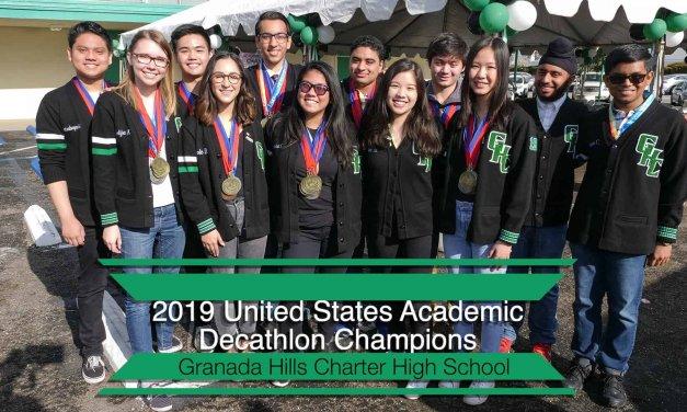 LAUSD Granada Hills Charter Academic Rally Video