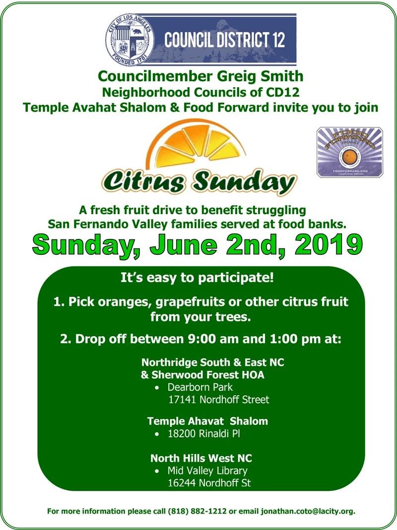 Citrus Sunday – June 2, 2019