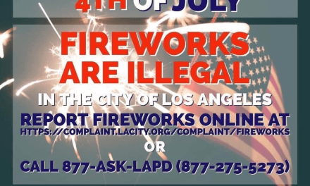 How to Report Illegal Fireworks in Los Angeles