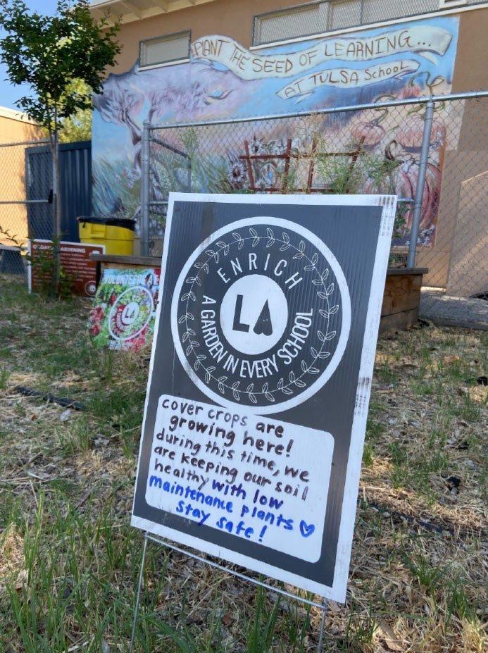 Incredible Results of the Enrich LA Neighborhood Purpose Grant at Tulsa Elementary School!