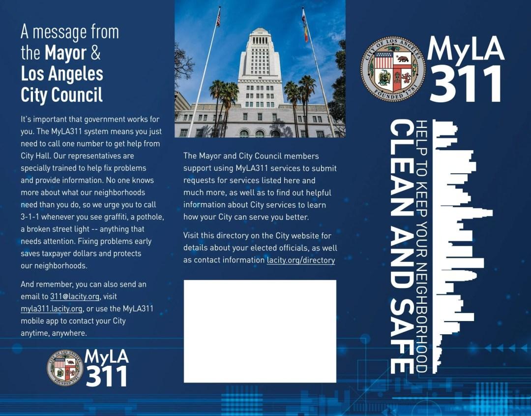 Using the MyLA311 App