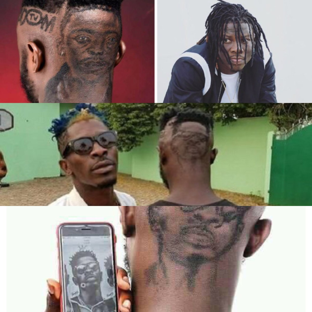 Bhim fan vs sm fan fan of stonebwoy draws the musicians