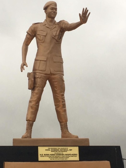 , Major Maxwell Mahama Statue Unveiled (more photos), GHSPLASH.COM