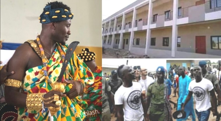 , Ghanaian Media don't write when I do positive project but when Mane builds school they write – Asamoah Gyan laments, GHSPLASH.COM