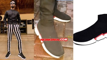 Kuami Eugene Zara Sneaker