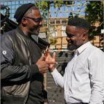 Sarkodie and Idris Elba