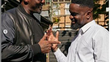 Sarkodie and Idris Elba