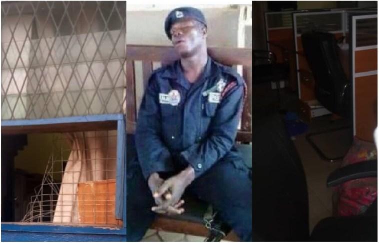 Brave Thieves Rob Nima Police Station 😂🤣😂 2