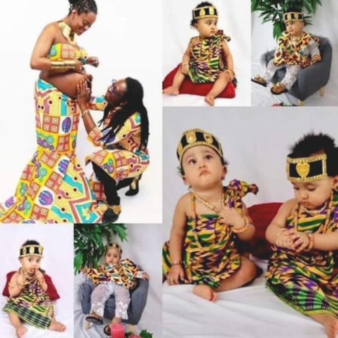 UK Based Ghanaian Lesbian Couple, Linda & Dorcas Flaunt Their Twins 1