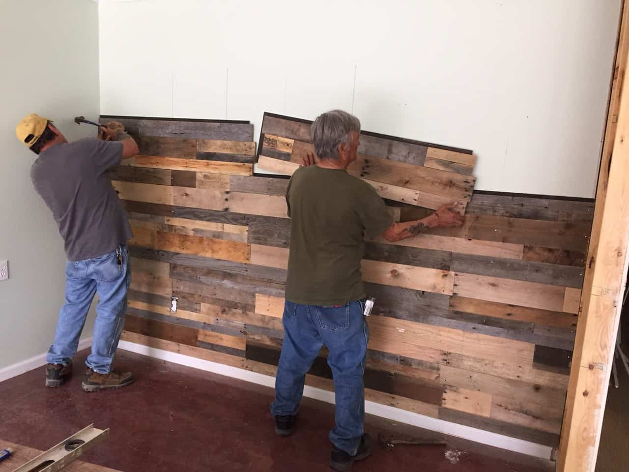 Sustainable Lumber Co Wood Wall Panels Reclaimed Pallet Wood Green Building Products Sustainable Materials Greenhome Solutions